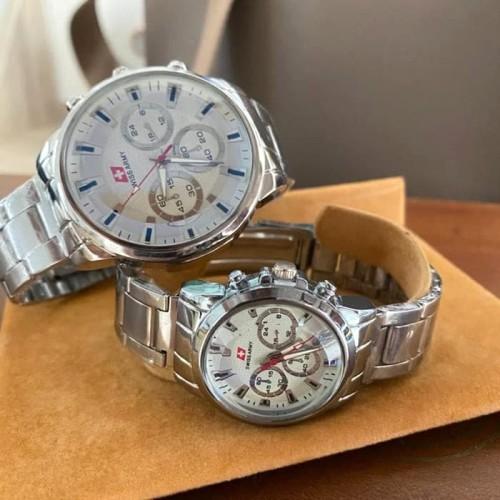 Foto Produk Jam tangan pria dan wanita rantai + Swiss dari Ahokyahop