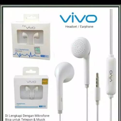 Foto Produk Handsfree Headset Vivo Original 100 % Asli dari Mall Accesories