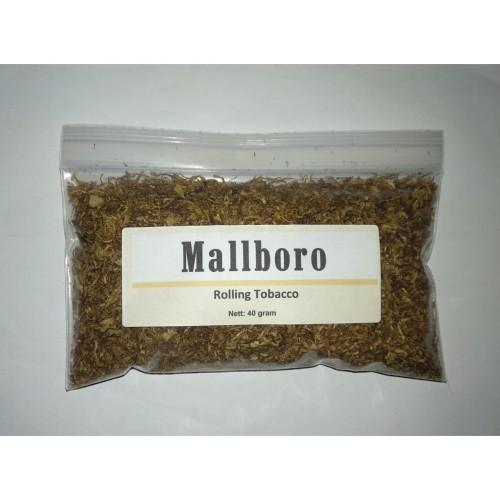 Foto Produk Tembakau Rokok Mallboro Putih (Bulk 40 g) Linting Tingwe Rasa Marlboro dari Javan Cigars