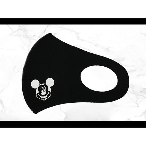 Foto Produk [Cashback 5%] Masker Skuba MICKY Fashion Anak Anti Debu Dapat Dicuci - Hitam dari Tjanyu