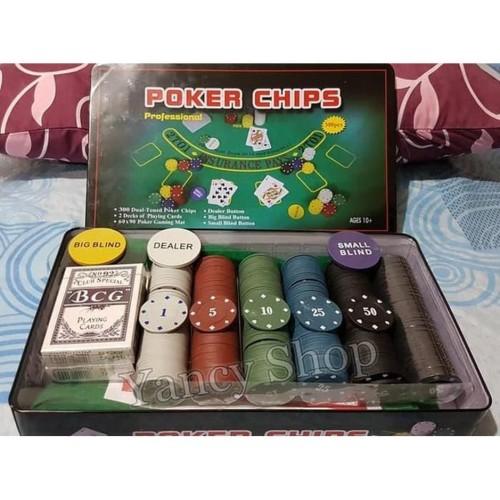 Jual Unik Terbaru Board Game Chip Poker Set Isi 300 Diskon Jakarta Barat Saqil Store674 Tokopedia