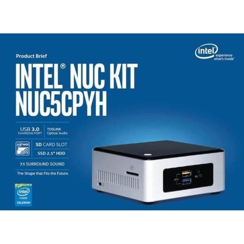 Foto Produk INTEL NUC 5CPYH DUALCORE FULL SET dengan pilihan HDD SSD RAM DOS Mura dari ibel store679
