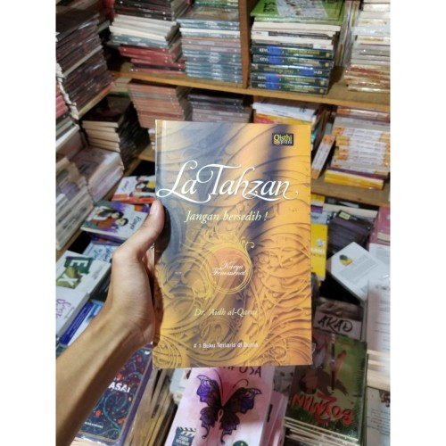 Foto Produk Buku LA TAHZAN JANGAN BERSEDIH By Dr. Aidh Al Qarni dari TOKO Grosir Buku