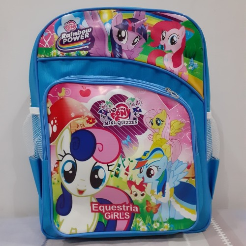 Foto Produk Tas Ransel Backpack motif anak Cowok Cewek Sekolah - Biru dari Winston Abadi Jaya