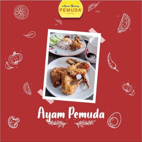 "Foto Produk Ayam Goreng Kuning ""Pemuda"" - Ready To Cook - Isi 4 pot Ayam + Sambal - MIX dari Ayam Gr Pemuda"