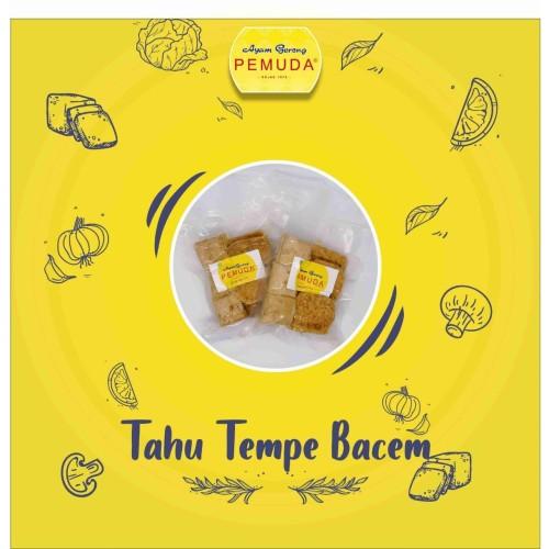 Foto Produk TEMPE & TAHU BACEM PEMUDA - FROZEN - Isi 8pcs dari Ayam Gr Pemuda