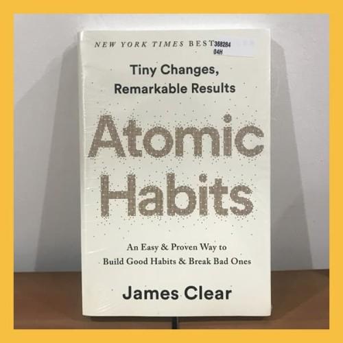 Foto Produk Buku Import Atomic Habits by James Clear (Original Hardcover) dari Book World