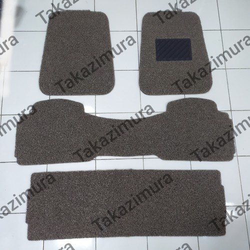 Foto Produk Karpet mie bihun Mobil Xpander Universal 3 baris - Hitam Polos dari Takazimura