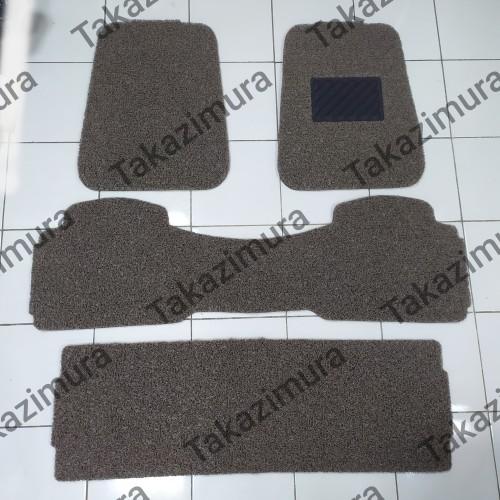 Foto Produk Karpet mie bihun Mobil Grand Livina 3 baris Universal - Hitam Polos dari Takazimura