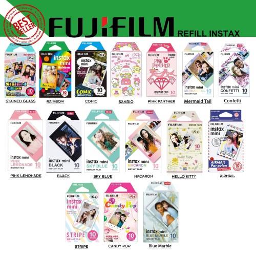 Foto Produk Fujifilm Refill Polaroid Instax Mini Film Motif - isi 10 Lembar - Refill MiniFilm dari Milo Shoes