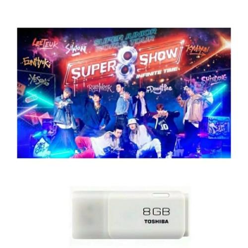 """Foto Produk Konser SUPER JUNIOR """"SUPERSHOW 8"""" in Saitama japan dan Flashdisk 8 GB dari Hanara Collection"""