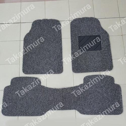 Foto Produk Karpet mie bihun Universal Mobil Honda CITY 2 baris - Hitam dari Takazimura