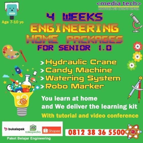 Foto Produk Paket belajar di rumah Engineering Package usia 7-10 bonus E-Learning dari Mediatek Aksesories