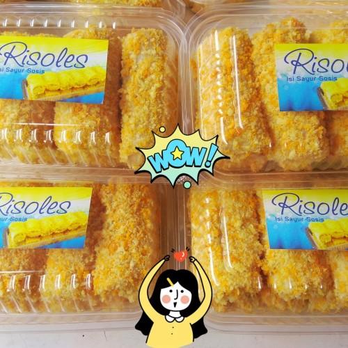 Foto Produk Risoles rougut sayur / Risol rougut dari RN FROZEN FOOD
