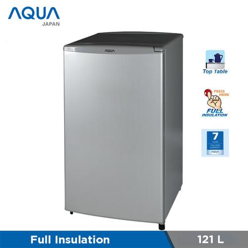 Foto Produk Freezer Aqua AQF-S4(S) 5 RAK Freezer asi dari Jacob Elektronik