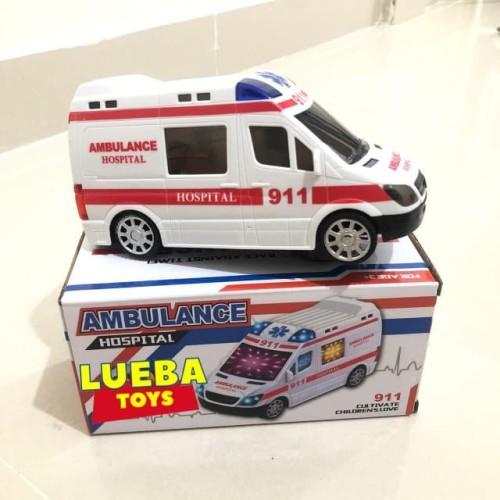 Jual Mainan Ambulance Lampu Musik Mobil Ambulan Anak Jakarta Utara Lueba Toys Tokopedia