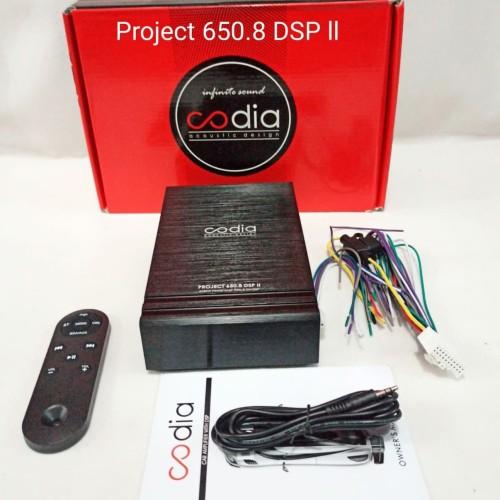 Foto Produk Processor Codia Project 650.8 DSP ll - New - Digital Signal Processor dari dinasti car audio
