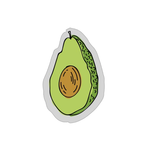 Foto Produk Acrylic Popstand - Avocado dari The Case Bible