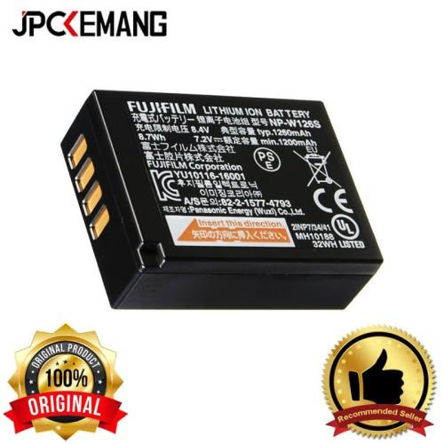 Foto Produk Fujifilm Battery NP-W126S dari JPCKemang