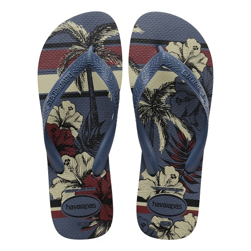 Foto Produk Havaianas Aloha Indigo Blue - 41-42 dari Havaianas Official Shop
