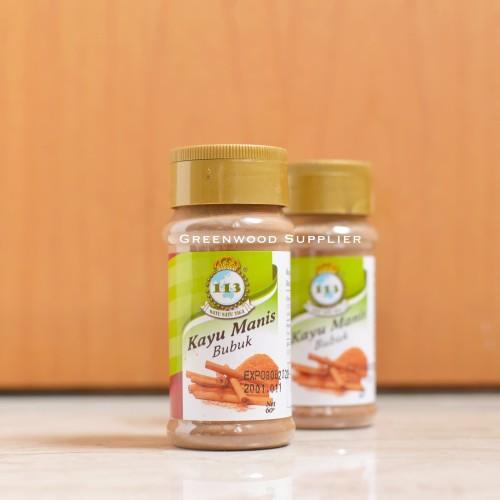 Foto Produk Kayu Manis Bubuk / Cinnamon Powder (60g) dari Greenwood Supplier