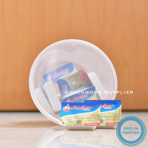 Foto Produk Anchor Minidish Unsalted Butter 10 x 10 Gr. (FREE CONTAINER) dari Greenwood Supplier