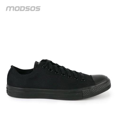 Foto Produk Sepatu Pria Converse Low Canvas Full Black Original dari Modsos
