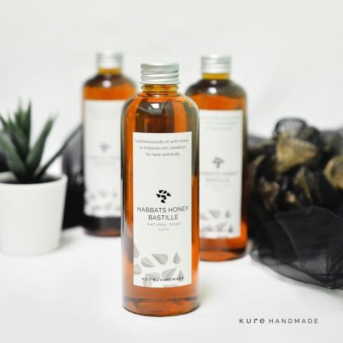 Foto Produk KURE Habbats Honey Bastille Soap (Sabun Habbatussauda Madu) dari KURE HANDMADE