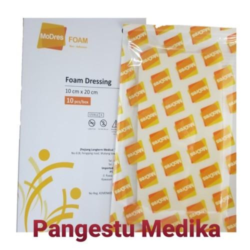 Foto Produk MODRES FOAM NON ADHESIVE 10cm x 20cm dari Pangestu Medika