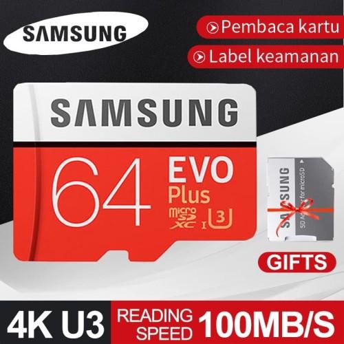 Foto Produk Samsung Kartu Memori TF Class10 Kapasitas 64GB Memory Card Micro SD dari Acc Gadget official