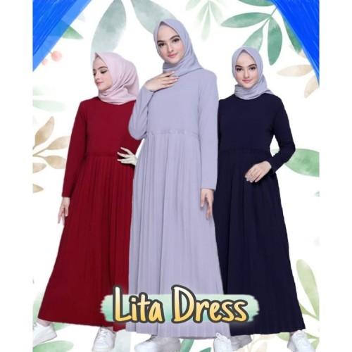 Jual Baju Gamis Wanita Kualitas Premium Harga Terbaik Gamis Plisket Gamis Biru Dongker M Jakarta Barat Yoep Tokopedia