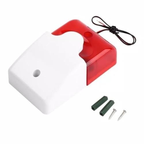 Foto Produk Mini Strobe Siren / Sirine Alarm Rumah Gudang Anti Maling Mobil dari SCR CCTV