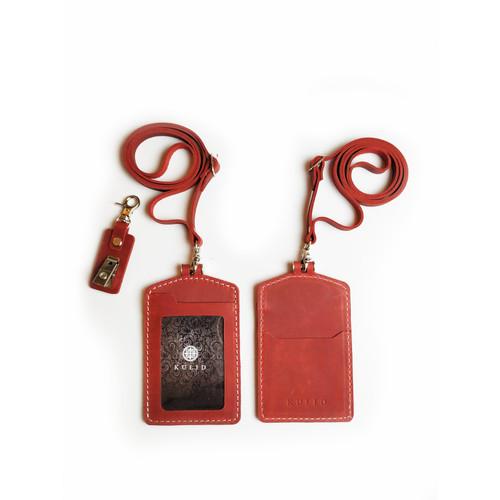 "Foto Produk Tempat Id Card Kulit ""Cakra Abang ID"" by KULID dari Kulid"