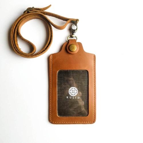 """Foto Produk Tempat Id Card Kulit """"Taraka Coklat ID"""" by KULID dari Kulid"""
