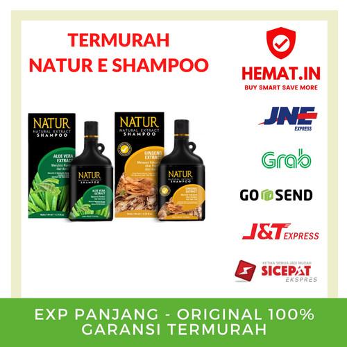 Foto Produk SHAMPOO NATUR E ALOEVERA GINSENG HIJAU KUNING SHAMPOO 140ML - GINSENG dari Hemat Indonesia