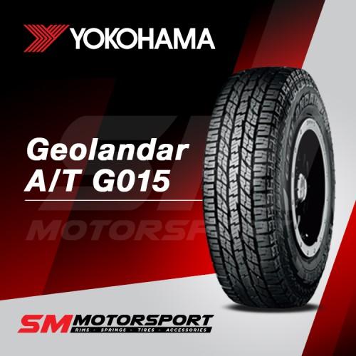 Jual Yokohama Geolandar A T G015 275 60 R18 113h Ban Mobil Jakarta Barat Sm Motorsport Tokopedia