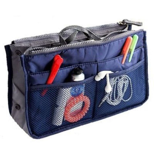 Foto Produk Dual Bag In Bag Organizer - Navy Blue dari ZenBlossom