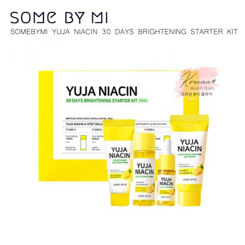 Foto Produk [KIT] SomeByMi - Yuja Niacin 30 days Starter Kit - Some By Mi dari Korean Beauty Plaza
