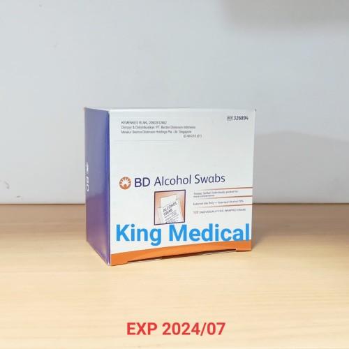Foto Produk BD Alcohol Swab Swabs dari King Medical