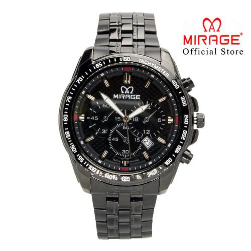 Foto Produk JAM TANGAN PRIA MIRAGE AC 8535M SPORT FULL BLACK pH dari Mirage Watch