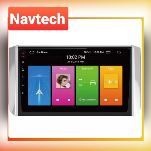 Foto Produk Head unit android 9 inch mitsubishi xpander / all new grand livina - 2GB 16GB dari Navtech