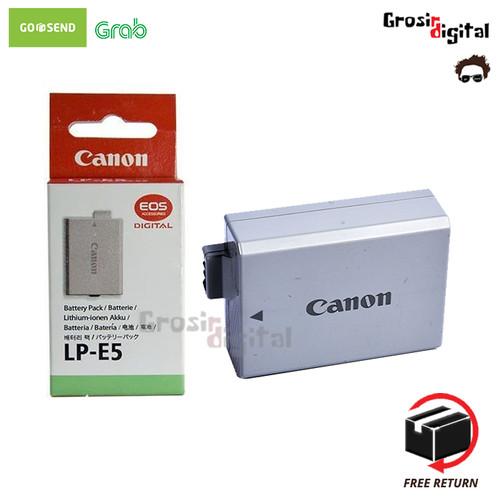 Foto Produk Battery Baterai Batre Canon LP-E5 1000D 500D 450D dari Grosir Digital