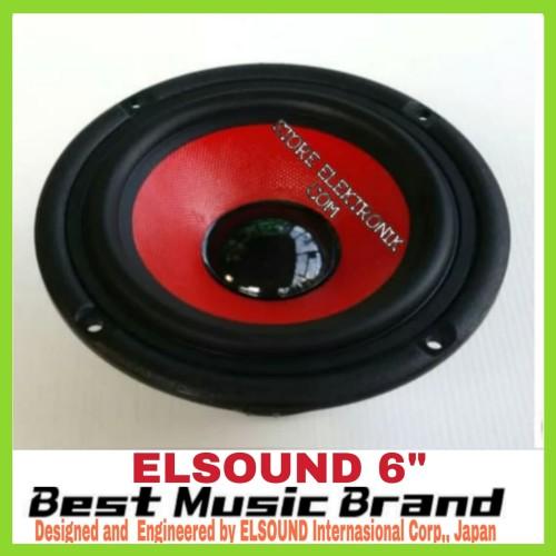 Foto Produk SPEAKER ELSOUND 6 INCH WOOFER ORIGINAL dari store elektronik com