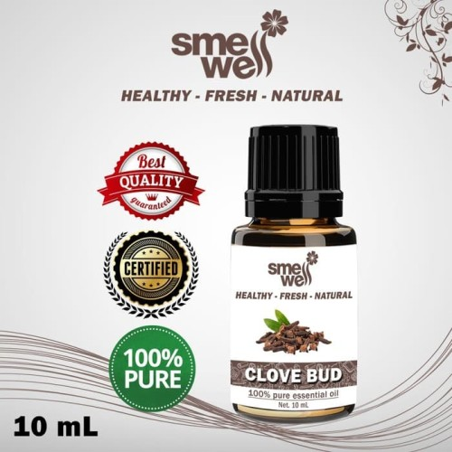 Foto Produk Pure Essential Oil Clove Bud Minyak Cengkeh Smell Well 100% Alami - 10ml dari Caesar Jac'O