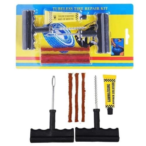 Foto Produk Alat Tambal Ban Tubles 1 Set / Tubeless Tire Repair Kit dari AnerStore