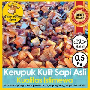 Foto Produk KERUPUK KULIT SAPI ASLI MENTAH 0,5 KG dari Kang Abay Store