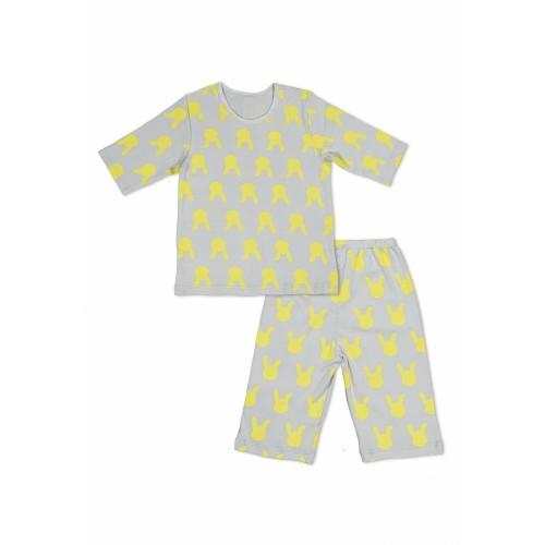 Foto Produk SETELAN PIYAMA ANAK PEREMPUAN YELLOW RABBIT - 5-6 tahun dari Melco Fashion Ltd