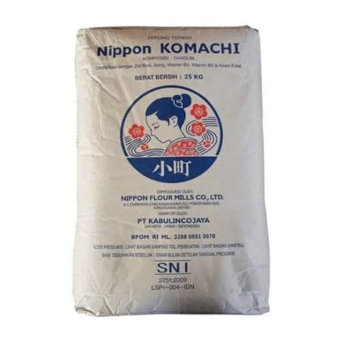 Foto Produk Tepung Terigu Komachi 1 kg / Repack dari Baking Friends