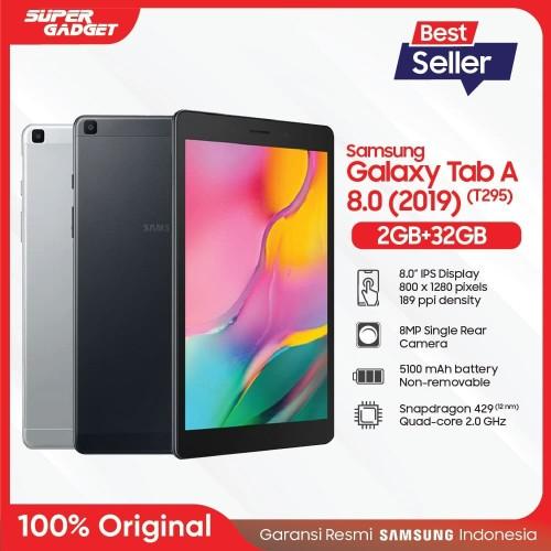 Foto Produk Samsung Galaxy Tab A 8.0 2019 T295 2/32 GB - Garansi Resmi - Hitam dari SUPER_GADGET