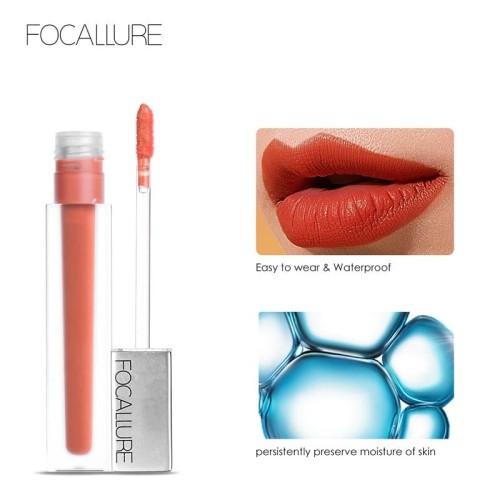 FOCALLURE New Long-lasting & Ultra-matte Waterproof Lipstick FA67 - FA67-05 2